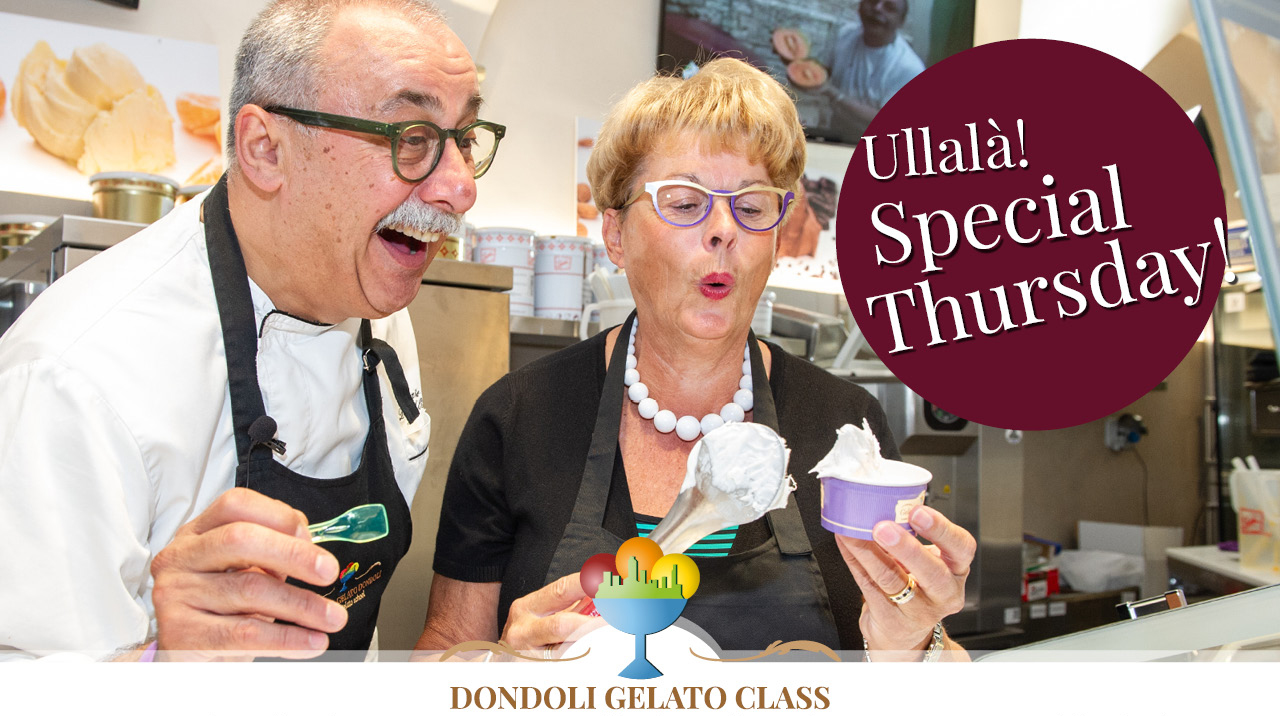 dondoli gelato class special thursday